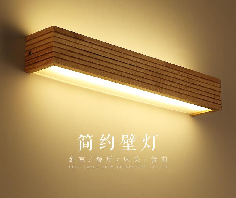 Simple solid Wall Lamps bedside lamp wall lamp LED modern bathroom cabinet bathroom mirror lamp creative cross LU628 ZL45