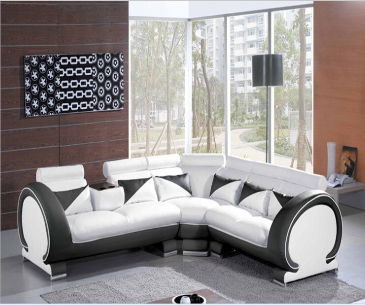 Shop Yellow Genuine Leather Sofa Set: Aliexpress.com : Buy Living Room Sofa Set Corner Sofa Real