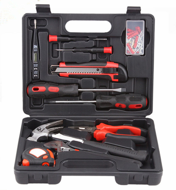 STARPAD 11 conjuntos de ferramentas de uso doméstico conjunto de ferramentas Chave De Fenda Kit De Ferramentas de metal caixa de ferramentas