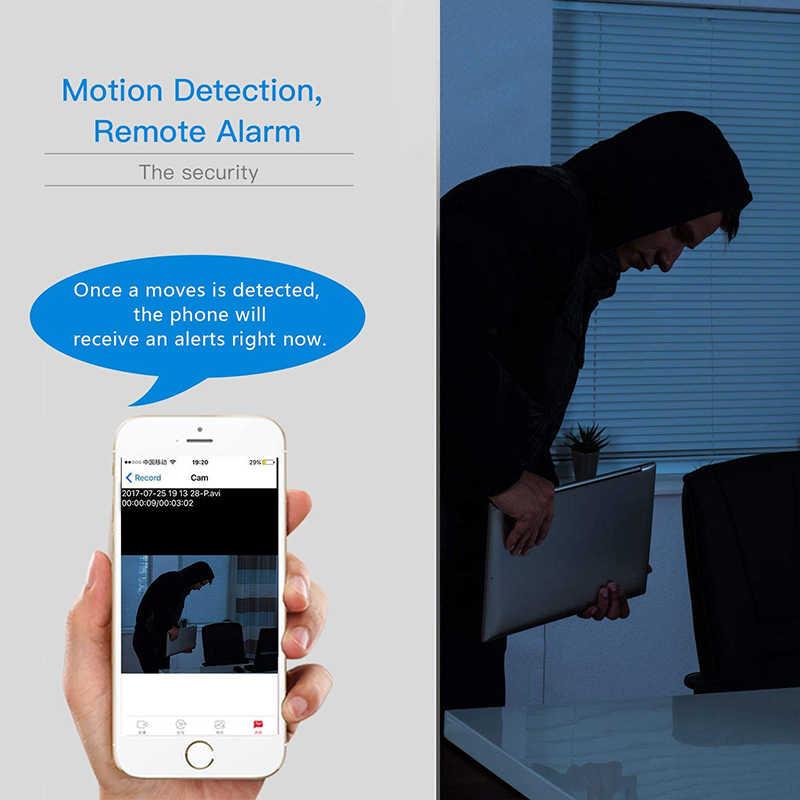 غير مرئية ليلة النسخة 1080 P واي فاي البسيطة كاميرا لاسلكية ل الحركة Detectiom تسجيل الفيديو التحكم عن بعد المحمولة مسجل