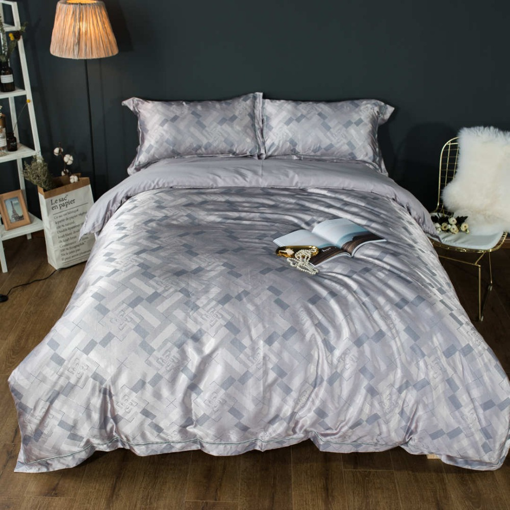 Kualitas Sutra Set Tempat Tidur Bed Cover Lembar 1000tc Ratu Ukuran Shiny Cina Seprei Penuh Raja Sz Benang