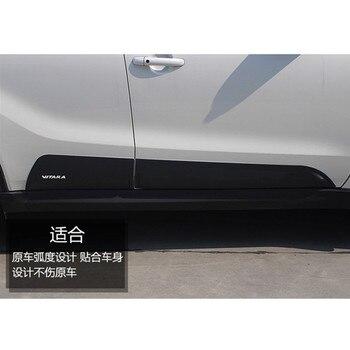 Versione europea di ABS portello di automobile assetto del corpo assetto lampada sopracciglio trim auto parts per il 2015-2017 Suzuki Vitara car styling
