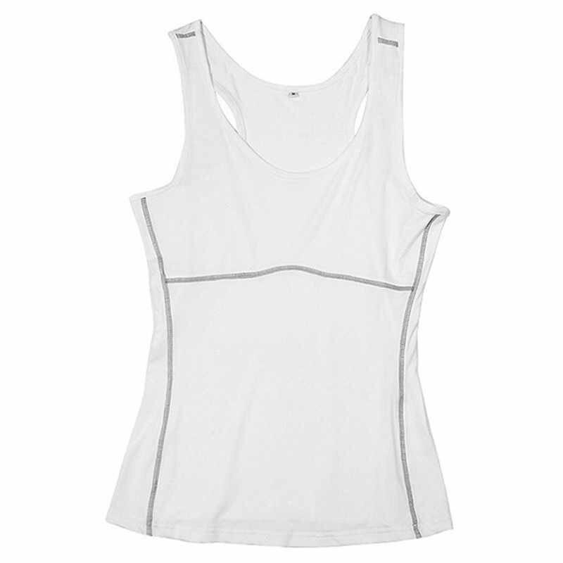 Frauen Kompression Unter Base Sport Wear Yoga Tank Tops Damen Gym Shirts Skins Kleidung Lauf Cami Weste