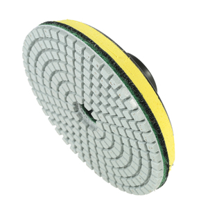 "Image 5 - 11pcs 4"" abrasive tools Diamond Wet Polishing Pads sanding Grinding Disc accessories+ 1pc Backing Pad for Marble Stone"
