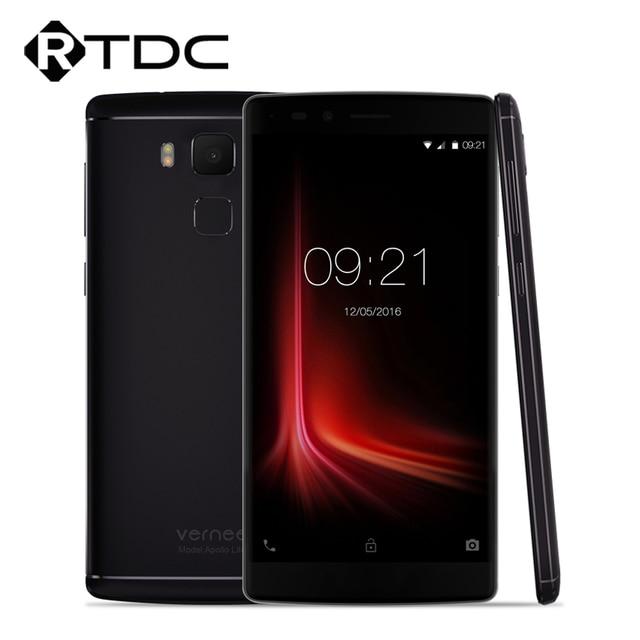 "New Original Vernee Apollo Lite Mobile Phone 4G 5.5""FHD Android 6.0 MTK6797 Deca Core 4G RAM 32G ROM 16.0MP 3180mAh Fingerprint"