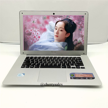 14 Inch 8GB RAM 750G HDD Laptop Windows7/win8.1 Notebook Computer with Intel Pentium Quad Core HDMI WIFI Webcam
