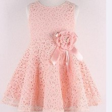 2016 summer new girls dress/Elegant princess dress with flow