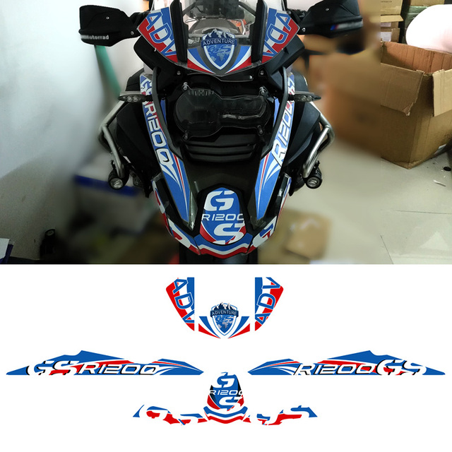 Whole Vehicle R 1200 gs Decals Stickers Fit For Motorcycle BMW R1200GS R 1200 GS 2013 2014 2015 2016 r1200gs 2013 2016 2014