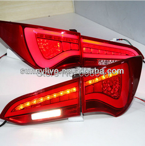 For Hyundai New Santa Fe IX45 LED Tail lamp WH