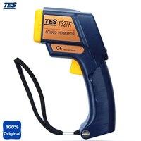 K Тип промышленный термометр инфракрасный (2 в 1 инфракрасный: 35 500c контакт: 150 1350c) tes1327k