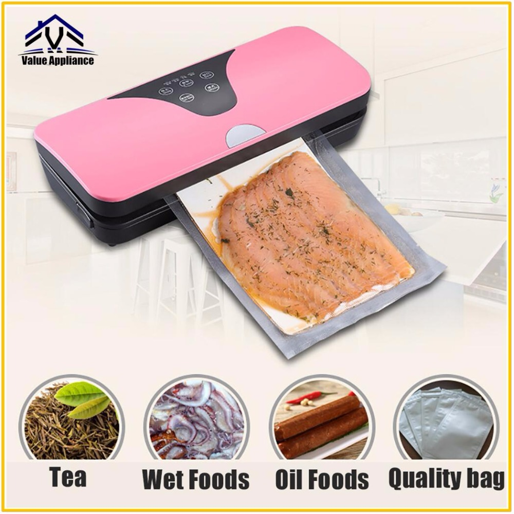Quality Household Food Vacuum Sealer Packaging Machine With 10pcs Bags Automatic Commercial Best Vacuum Food Sealer white dolphin vacuum food sealer 110v 220v electric household mini food vacuum sealer packaging machine with 10pcs storage bags