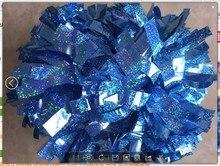 font b cheerleading b font Pom poms 3 4 x 6 custom color metallic holographic