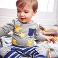 Otoño Niña Niño de Manga Larga Camiseta de Niño de Dibujos Animados Tops ropa Para Niños