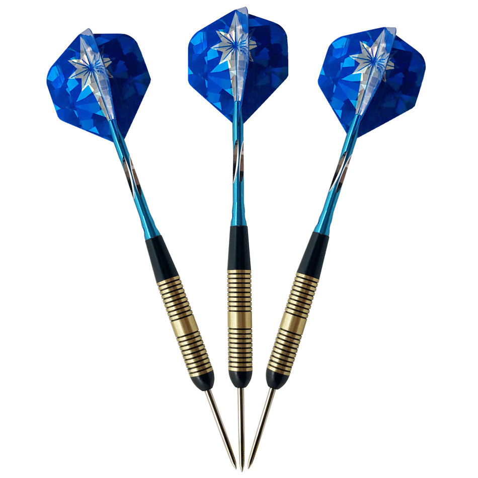 High Quality Darts Set 23g Needle Darts Needle Copper Darts High Grade Color Box with Grindstone Free Shipping in Darts from Sports Entertainment