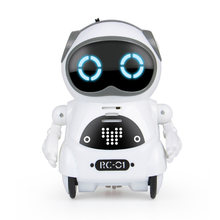Interactive Dialogue Voice Control Record Mini Toy Intelligent Pocket Robot Telling Story Singing Dancing Speech Recognition(China)