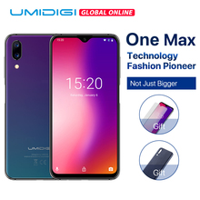 "UMIDIGI One Max Global Vertion 4GB 128GB 6.3"" Waterdrop Full-Screen 4150mAh Dual Camera Smartphone NFC Wireless Charger Face ID(China)"