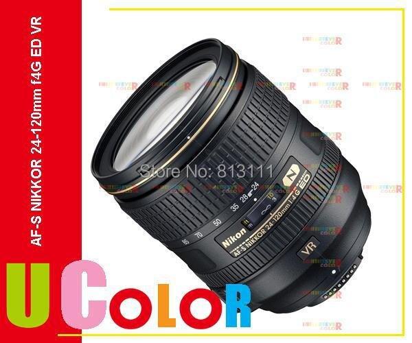 Nikon AF-S NIKKOR 24-120mm f/4G ED VR Zoom Lens for D810 D750 D610 D7200 D7500 D5600 зеркальный цифровой фотоаппарат nikon d750 af s 24 85 vr