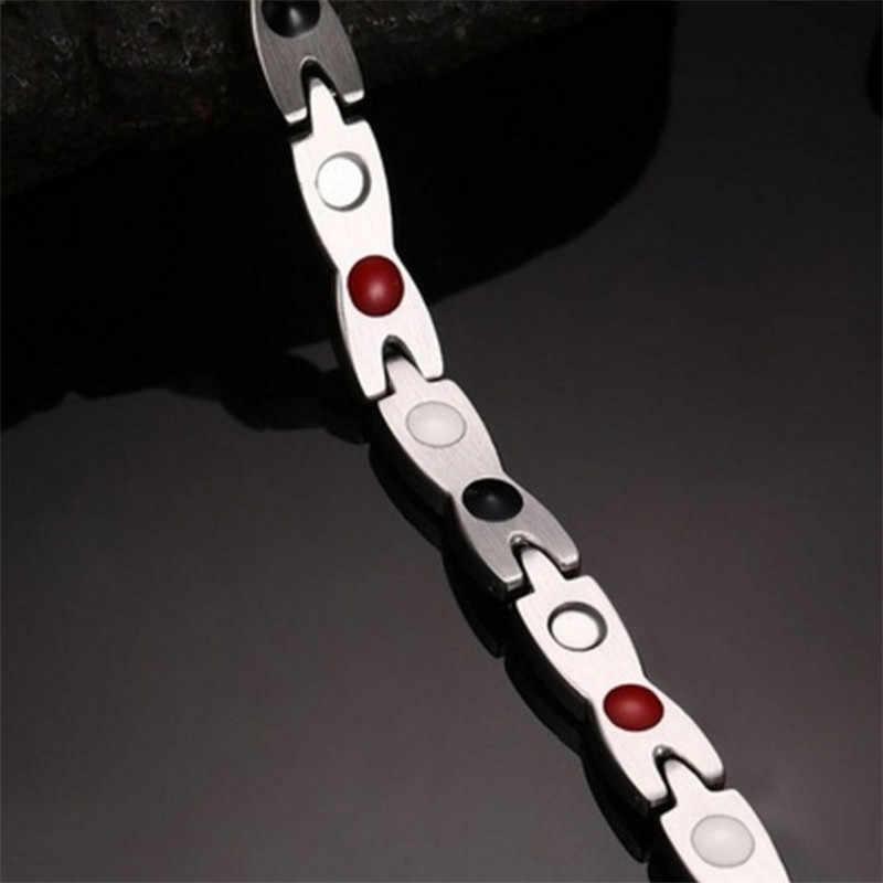 Дракон узор витой Здоровый Магнитный браслет для женщин мощность терапевтические магнитики браслеты для женщин мужчин