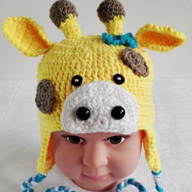 Babymütze Häkeln Ohr Kuh Motorhaube 0 12 Monate Handgefertigten Hut