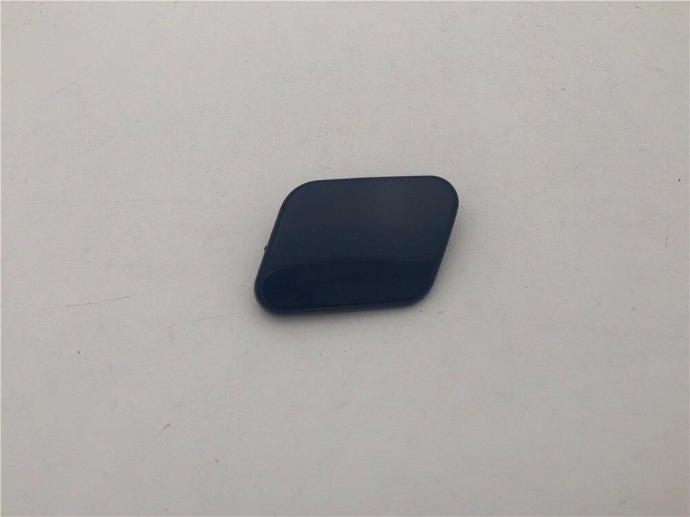 2pcs Front Bumper Headlamp Washer Nozzle Cap Cover for Nissan Qashqai 2014-2017