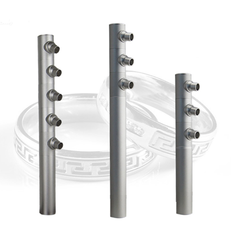 ФОТО Free Shipping Height 20/25/30/35cm 3W  Aluminum Adjustable Cree Cabinet Showcase Led Jewelry Lighting Spotlight  AC85-265V