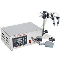 220V Microcomputer Commercial Control Automatic Liquid Filling Machine Water Wine Filling Machine With English Button