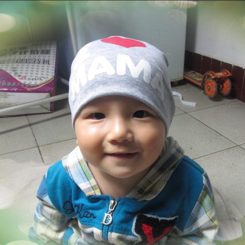 Neue 0-2 Jahre Iove MOM Love DAD Brief Baumwolle Babymütze Cap Girl - Babykleidung - Foto 6