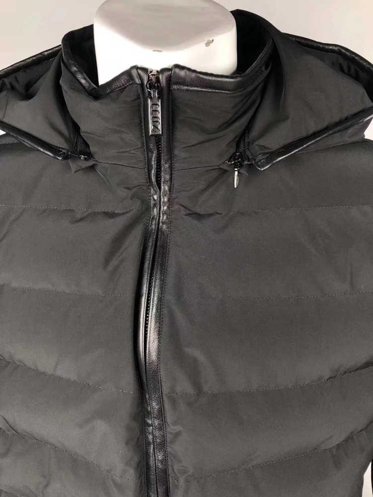 Billionaire TACE & SHARK хлопковая куртка мужская Змеиная Кожа 2018 Новое поступление коммерция молнии воротник карман Открытый M-4XL Бесплатная доставка