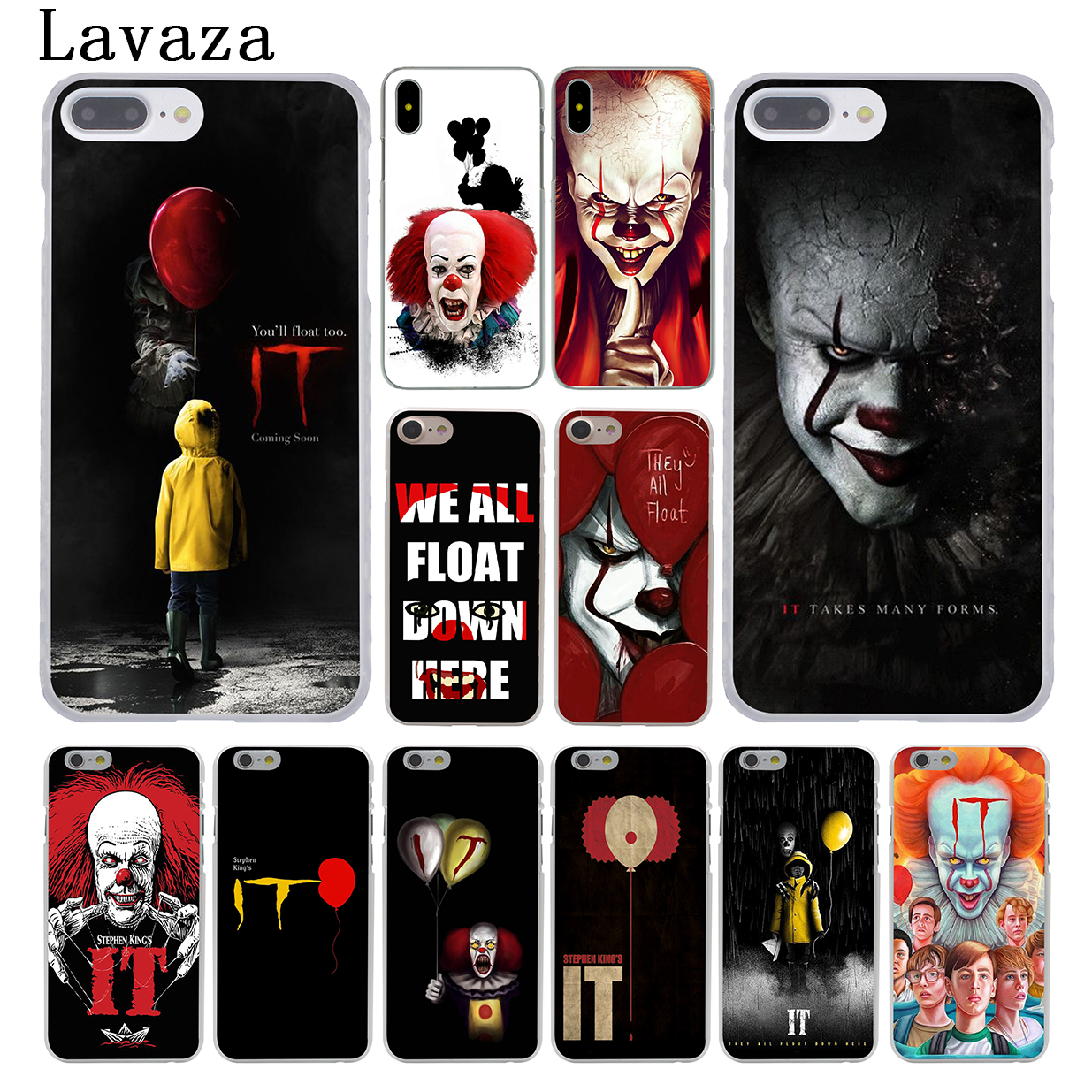 Lavaza Stephen Kings It King s It Hard Coque Shell Phone Case for Apple iPhone 8 7 6 6S Plus X 10 5 5S SE 5C 4 4S Cover