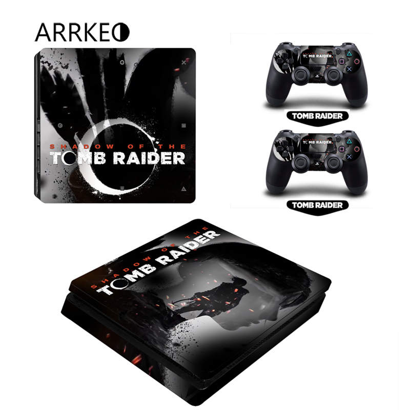 ARRKEO Popular Game Shadow of the Tomb Raider Cover PS4