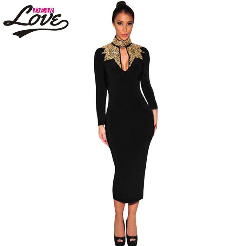 Online Get Cheap Black Sequin Dress Long Sleeve -Aliexpress.com ...