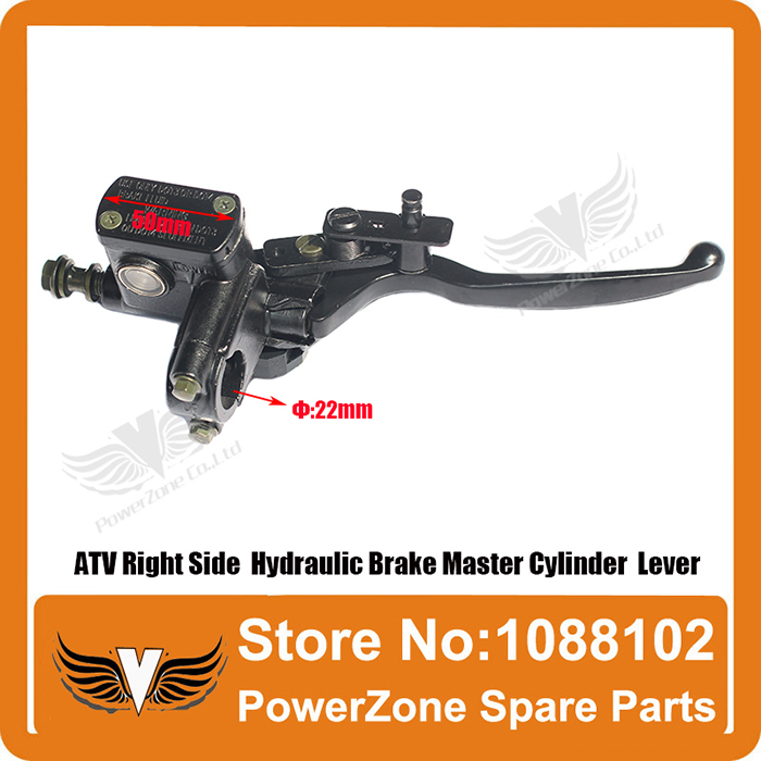 New Left Side Hydraulic Brake Master Cylinder Lever For 50 110 125cc 150cc 250cc Atv Back To Search Resultsautomobiles & Motorcycles