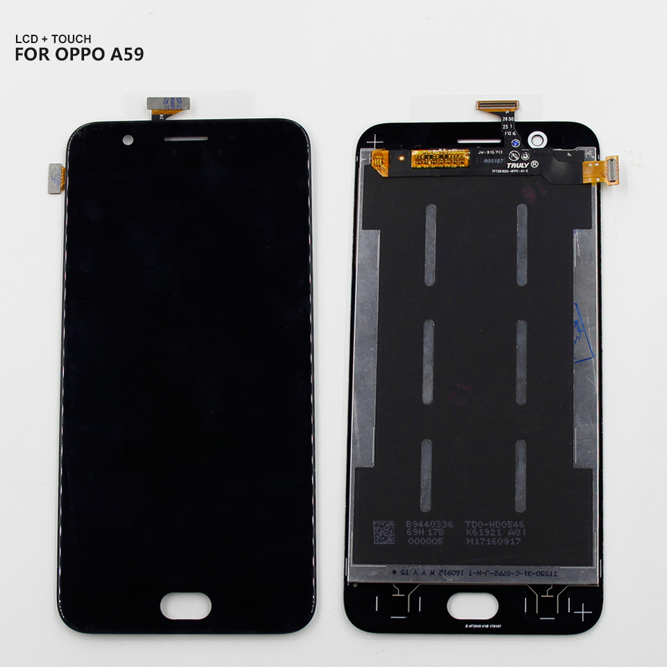 For <font><b>Oppo</b></font> F1S A59 <font><b>A1601</b></font> LCD Display Digitizer Screen Touch Panel Glass Assembly +Tools image