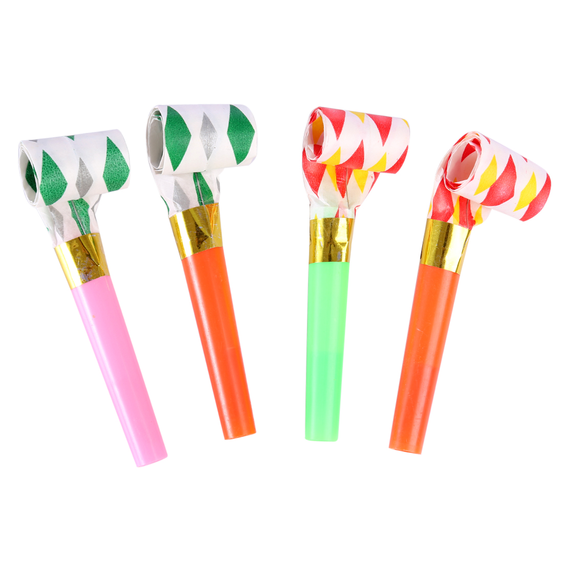 Rowsfire  Music Blowouts Whistles Toys Noisemakers For Children Birthday Party Halloween