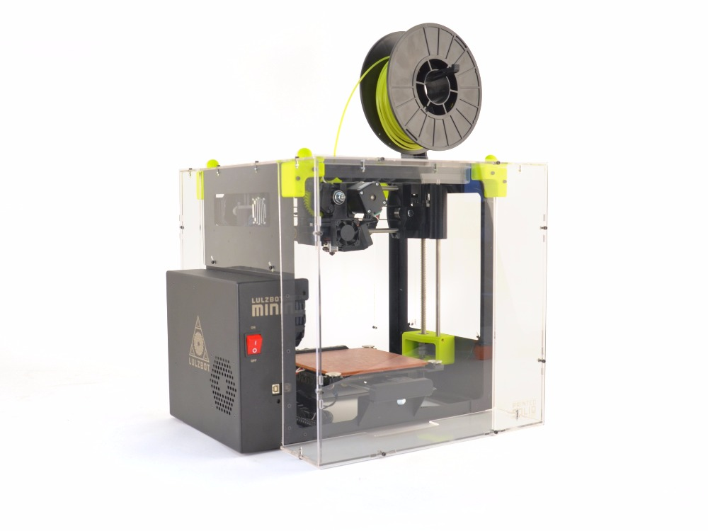 Funssor LulzBot Mini Enclosure by Printed Solid acrylic plate enclosure kit for Lulzbot mini 3D printer