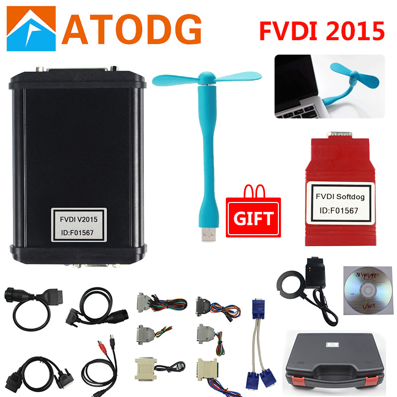 Image 2 - FVDI 2018 Newest V2018 FVDI full version No Limited Fvdi abrites commander 18 software update online FVDI 2018 functional-in Auto Key Programmers from Automobiles & Motorcycles