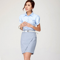 2016 Summer Style Suit Sets Office Business Formal Blazers Women S Skirt Suits For Work Skirt