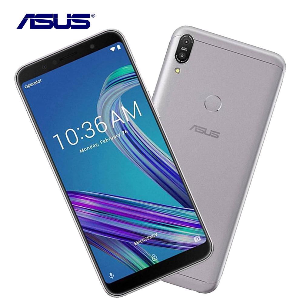 Asus ZenFone Max Pro M1 ZB602KL 4g RAM 64g ROM 6.0 Octa Core 13MP Android 8.1 5000 mah LTE Double Sim Cellulaire Intelligent Mobile Téléphone