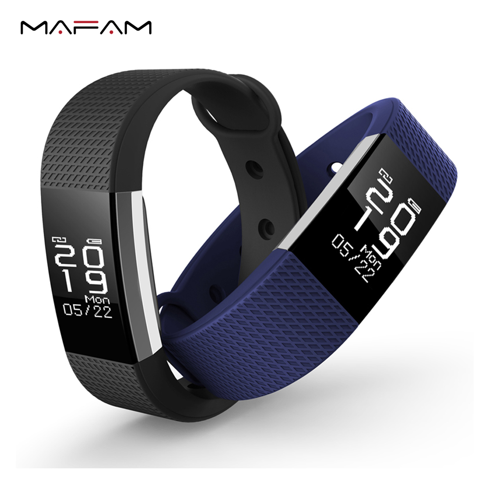 Bluetooth Smart Wristband Bracelet Pedometer Sleep Monitor Heart Rate Monitor GPS IP67 Swimming Waterproof for Android