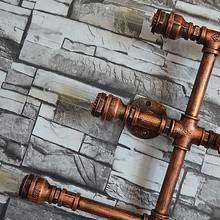 5 Heads Water Pipe Steampunk Vintage Wall Lights