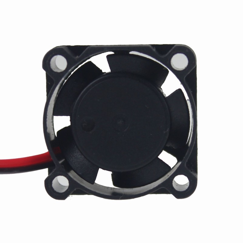 Купить с кэшбэком 20PCS Gdstime Mini Plastic 2Pin 2510s 25mm x 25mm x 10mm 24V DC Cooling Fan