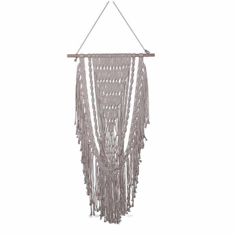 YRHCD в скандинавском стиле ручной работы богемном гобелен подвесные занавески для