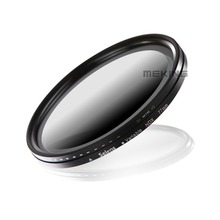 Selens 77mm Neutral Density Variable Filters NDX lens filter for Nikon Canon camera with storage container