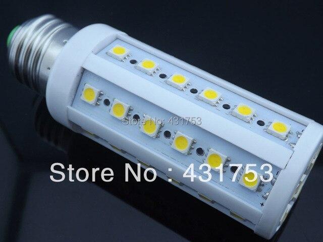 9W E27 44 LED 5050 SMD LED BULB Lamp  Warm White / White