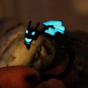 Серьги-капельки для женщин и мальчиков, светится в темноте