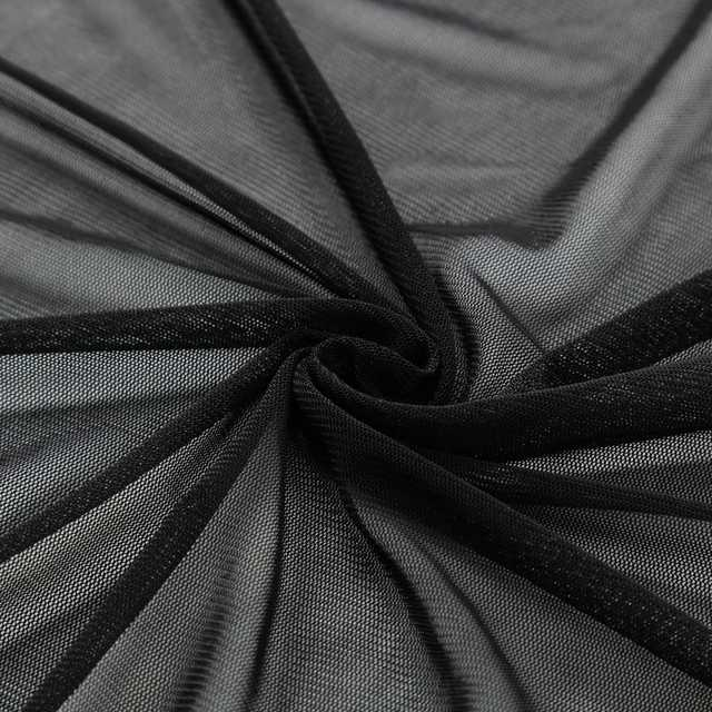 49ed9bc09a1f0 Online Shop 5XL Sexy Women See Through Kimono Cardigans Long Sleeves Open  Mesh Shirt Plus Size Sheer Long Blouses Bikini Cover Ups Tops