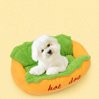 HERMOSO Hot Dog Bed Pet Winter Beds Fashion Sofa Cushion Supplies Warm Dog House Pet Sleeping Bag Cozy Puppy Nest Kennel