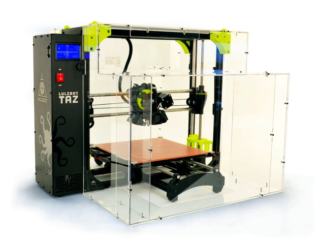 Funssor 1set*lulzbot taz 6 safety enclosure kit 3mm acrylic pannel screws nut and printed parts funssor 1set diy replicator 3mm acrylic hood cover enclosure kit for replicator 3d printer clones