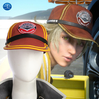 Nowy Film Kingsglaive Final Fantasy FF XV Cosplay Hat Cindy Aurum Hat Halloween Prop Dla Dorosłych Kobiety Kapelusz Darmowa Wysyłka