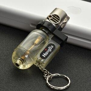 Image 3 - Pistola de pulverização para soldagem, portátil, tocha, anel chaveiro, isqueiro de gás butano, turbo 1300 c, à prova de vento, bico de charuto, isqueiro ao ar livre,